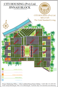 Citi Housing Multan Map